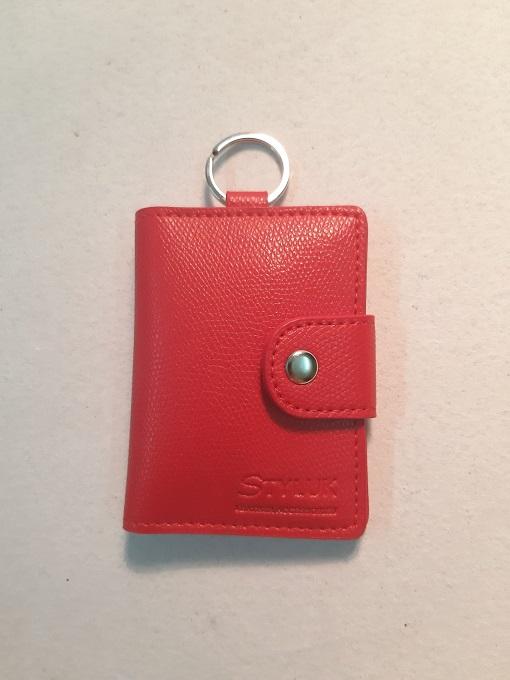 Ví đựng thẻ móc khóa CL-041RED