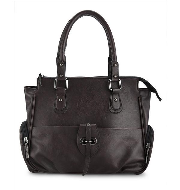 Túi xách to khóa kéo CL-LW20BR