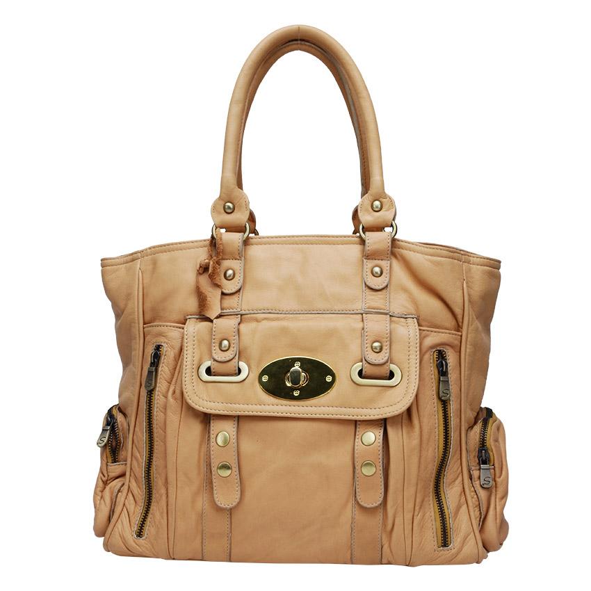 Túi xách đại da mềm CL-KB25BEI